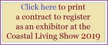 Registration contract for Coastal Living Show